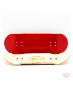 Blat do fingerboarda - czerwony
