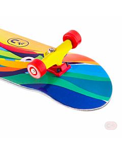 Kompletny zestaw fingerboard z grafika #013