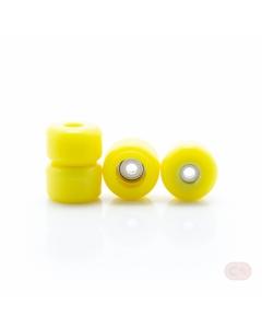 Kółka z łożyskami VERT - żółte